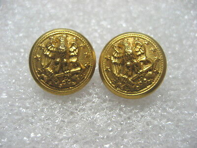 Vintage Uniform Buttons US NAVY lot of 2,small