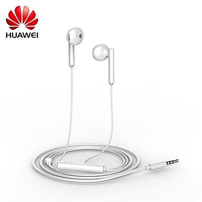 Auriculares Huawei AM115, in-ear, manos libres, blancos, micro, mando, headsets