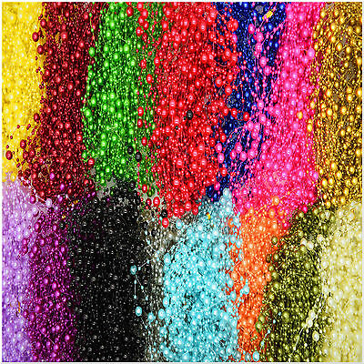 20x 1.3m Pearl Garland String Acrylic Beads Plastic Garlands Wedding Table Decor