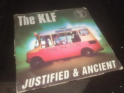 "The Klf - Justfied & Ancient - 90S Dance House Trance 12"" Vinyl Record Dj"