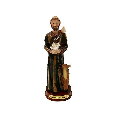 St Saint Francis Statue Figurine by Adeline Collection 5.5-Inch