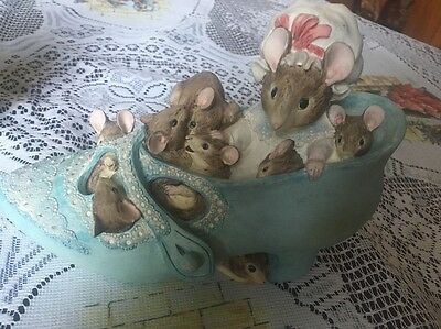Beatrix Potter,old Woman Who Lived In A Shoe.border Fine Art Mouse Money Box