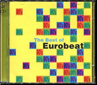 THE BEST OF Eurobeat - 80's Italo Disco - 2 Cd Compilation