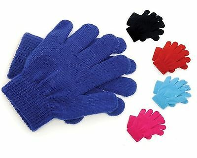 12 Pairs Kids Magic Gloves Several Colours