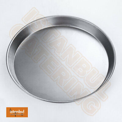 """10 X 12"""" Iron Pizza Pans 1.5"""" For Deep Pan Pizza Professional Quality 10 X 12"""""""