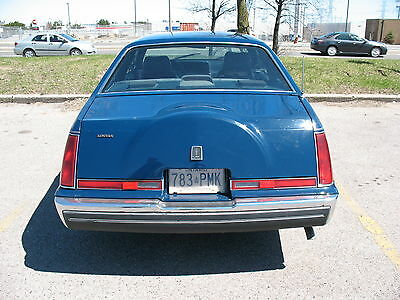 Lincoln: LS coupe 1987 lincoln lsc