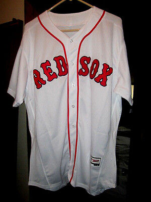 Nwt. D.price! Red Sox Authentic Majestic Cool Base White All Stitchd 3Xl/56.mens