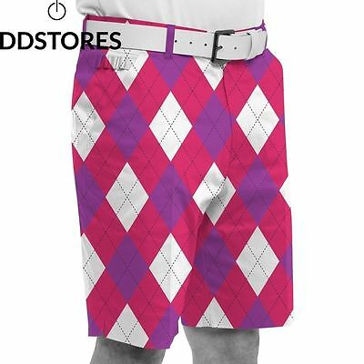 Royal Awesome Back To the Fuchsia Short Homme