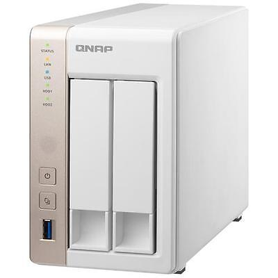 QNAP NAS TS-251 2 Slot Hard Disk Sata III 3.5 o 2.5 Interfacce 2 x Gigabit Ether