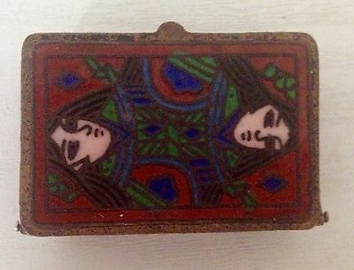 ANTIQUE CHINESE ENAMEL PILL/ Snuff BOX