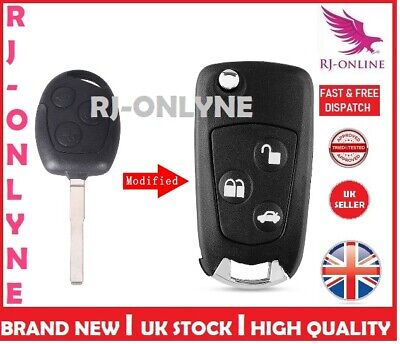 3 BUTTON UNCUT CONVERSION REMOTE KEY for FORD FOCUS MONDEO GALAXY CMAX A15