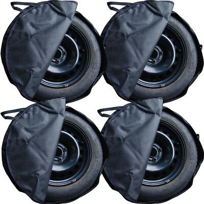 "4 x Bag Tyres bag with Handle 15"" 16"" Mature bags Tire cover Protector cover"