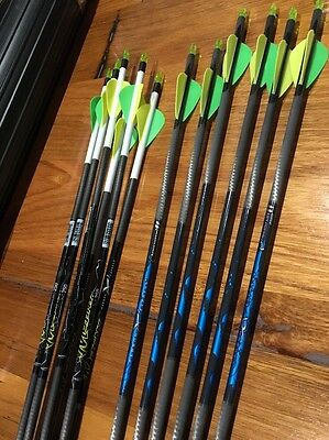 X12 Carbon Arrows (X6 Mutiny 250 and X6 Predator II 4560)