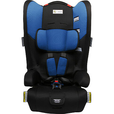 Infasecure Racing Kid II Convertible Booster Seat - Blue Swirl - NEW