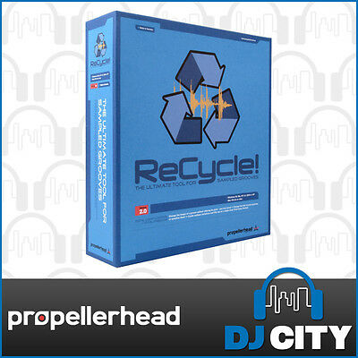 Propellerhead ReCycle 2.2 Creative Groove Editing Software (boxed) - DJ City