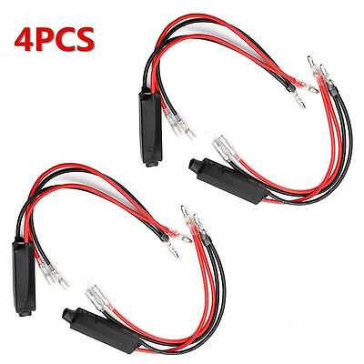 4pc Motorcycle Turn Signal Indicator LED Load Resistor Flash Blinker Fix  Error
