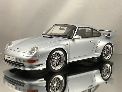 GT Spirit Porsche 911 (993) GT2 3.6 Twin Turbo Silver 1/18