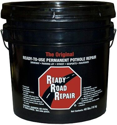 Crack Repair Patch Kit Exterior Ready Road Pothole Asphalt Concrete Driveway
