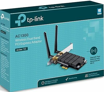 TP-Link Archer T6E AC1300 Wireless WiFi Dual Band PCI Express Adapter