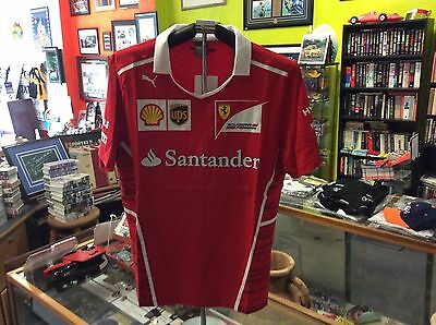 Ferrari 2017 Official Replica Formula One Team Tee Size Large
