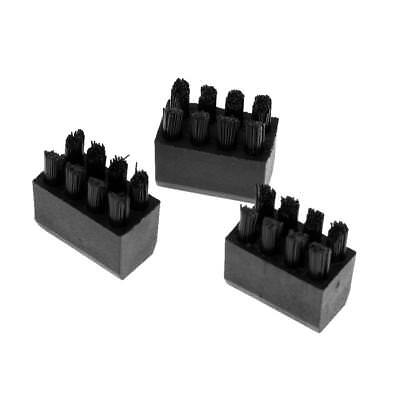 3 Pieces Arrow Rest Replacement Brush with Screw for Compound Bow