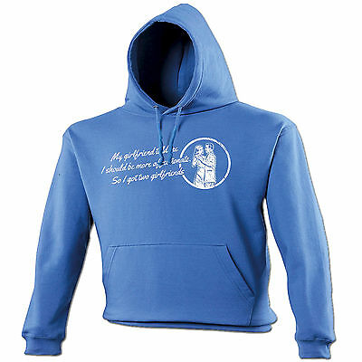 bc5c014b1db24d My Girlfriend Says I Should Be More Affectionate HOODIE hood birthday rude  gift