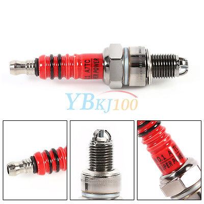 3 Electrode Spark Plug New for Scooter ATV Quads GY6 50cc 110cc 125cc 150cc GLF