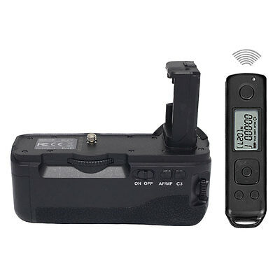 Mcoplus A7II Camera Battery Grip 2.4G Wireless Control  for Sony A7RII  NP-FW50