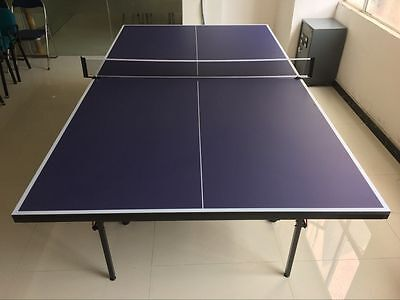Ping Pong movable single indoor table tennis table