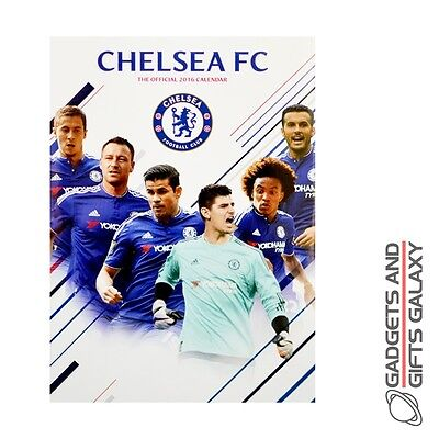 OFFICIAL CHELSEA FOOTBALL CLUB 2016 WALL CALENDARS Sporting goods accessory