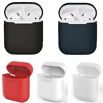 Silicone AirPods Case Caso Cover Custodia Protezione Per Apple AirPods Cuffie