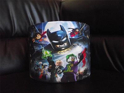 "Lego Batman 10"" Drum Ceiling Lampshade Lightshade"