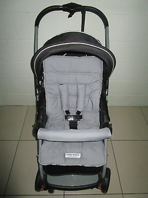 FUNKY BABYZ-Grey reversible universal pram liner-Size,Buy Covers option
