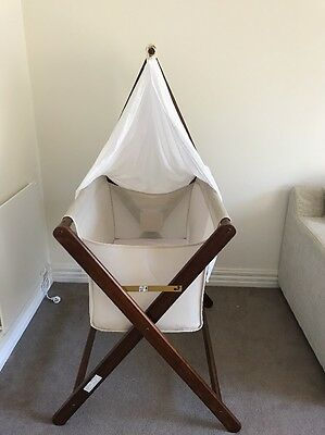 Mother's Choice Coco Bassinet Folding Bed Cot Crib Infant Baby Bassinette
