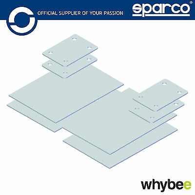00780P Sparco Roll Cage Reinforcements Fitting Plates Kit 3mm Thick FIA Spec