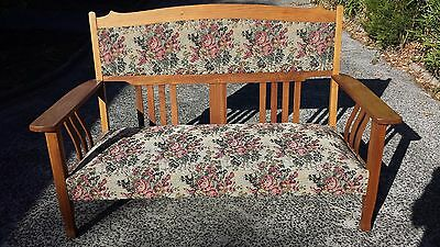 Antique Embroidered Day Bed