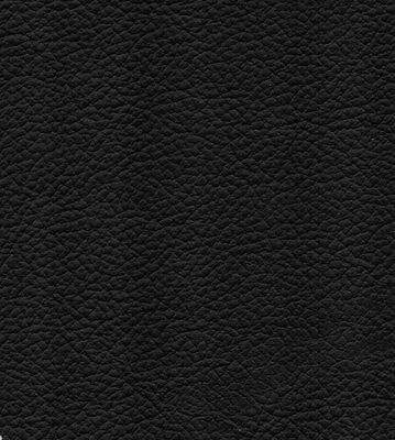 25 sq ft (surface area) Black  Leather Part Hide /skin for Upholstery
