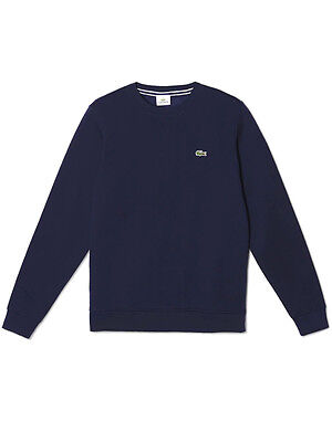 Lacoste Sport Crew Neck Fleece - Navy Blue