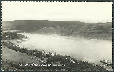 Kyles Of Bute Argyll & Bute c1960s Valentine Real Photo Postcard