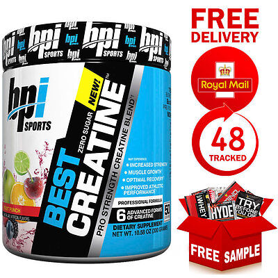 BPI Sports Best CREATINE Pro-Strength CREATINE Blend (50 Servings)