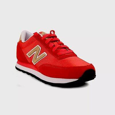 New Balance 501 red Women's shoes size 8