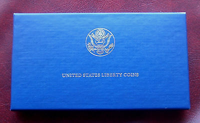 USA 1986 liberty coins gold/silver proof set