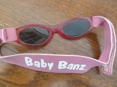 Genuine Baby Banz - Pink - 0-2 years - Used but new condition