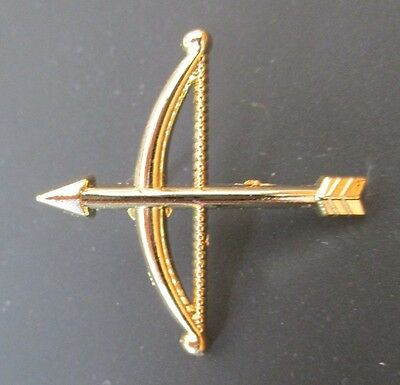 Order of the Secret Monitor OSM high quality Bow and arrow lapel/tie pin - new