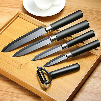 KCASA KC-CF007 Black Ceramic Knife Sets Kitchen Cutlery Rust Proof Chef Knife Sl