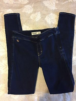 Girls Clothes Size Medium 7/8 Abercrombie Cute Stretch Jeggings
