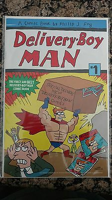 Delivery Boy Man Comic Futurama SDCC 2010 Exclusive Matt Groening