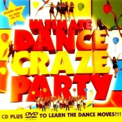Ultimate Dance Craze Party - Childrens / Kids / Boys / Girls Birthday Party Cd