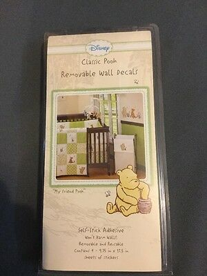 Disney Classic Pooh, Removable Wall Decals