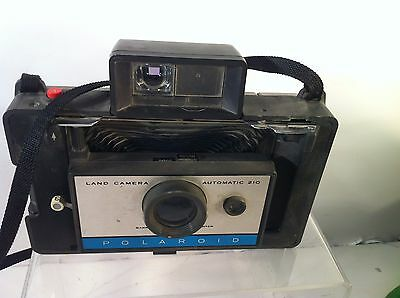 Vintage Polaroid Land Camera  Automatic 210--Free Ship
